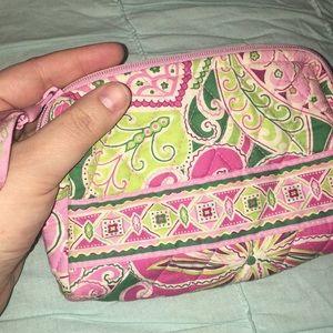 Vera Bradley Bags - Vera Bradley Makeup Bag - Pinwheel Pink